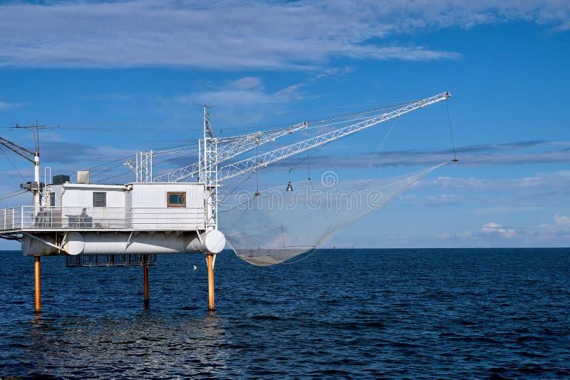 Fischenstation stockbilder