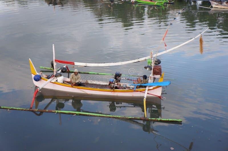 fischer stockfoto