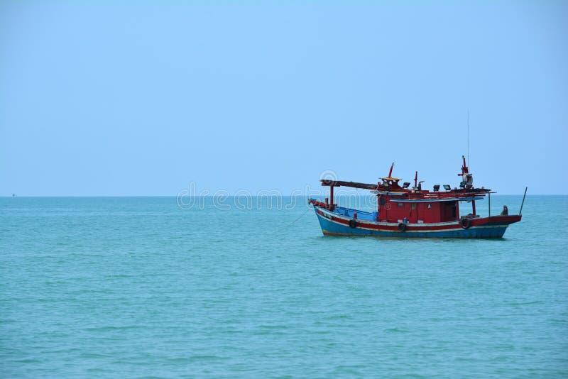 Fischer Boat lizenzfreies stockfoto