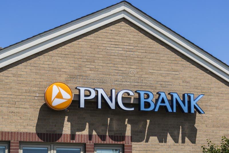 Fischer - circa im Mai 2017: Nc-Bankfiliale PNC-Finanzdienstleistungen bietet im Kleinen, Unternehmens- und Hypothekenkreditgesch stockbild
