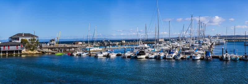 Fischer ` s Kai/Monterey lizenzfreie stockfotografie