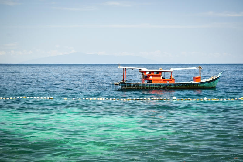 Fischerboot stockbild