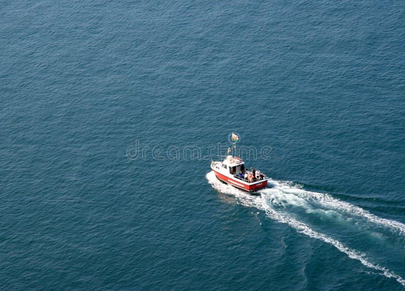 Fischerboot lizenzfreie stockfotos
