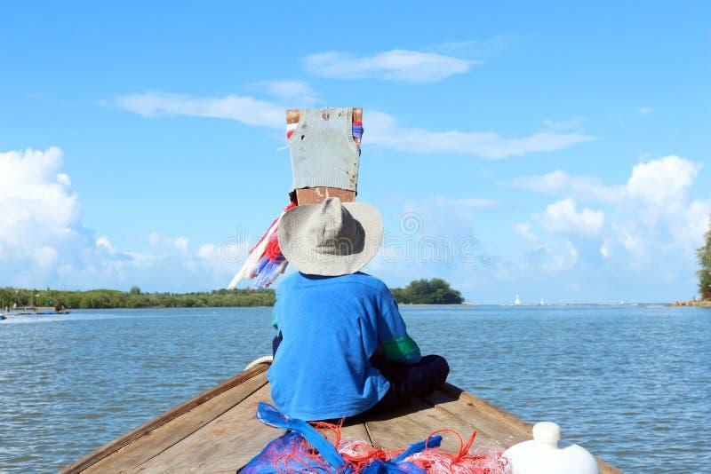 Fischerboot Thailand stockbilder