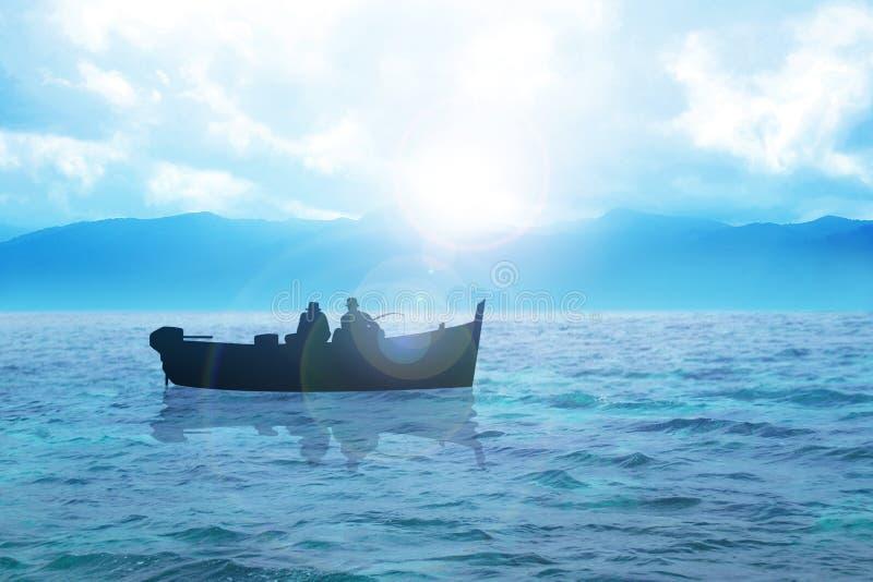 Fischerei stock abbildung
