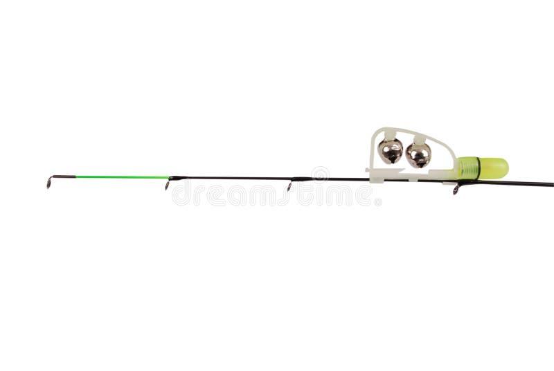 Fischerei des grünen Geklapper- und LED-Leistungsmessers stockfotografie