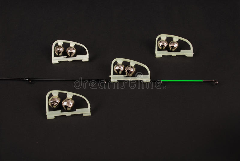 Fischerei des grünen LED-Leistungsmessers lizenzfreie stockfotos