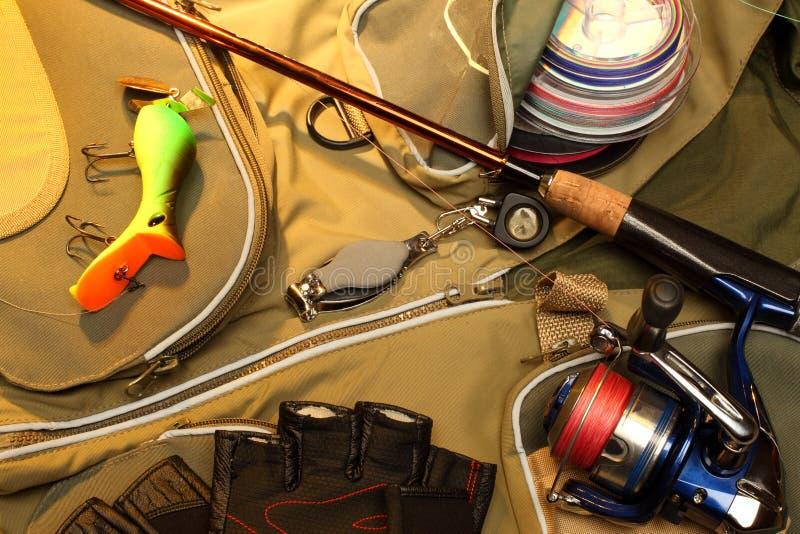 Fischerei-Gerät stockfotografie