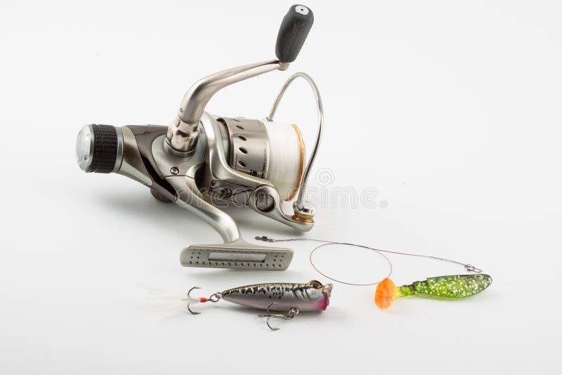 Download Fischereigeräte stockbild. Bild von scharf, sport, haken - 12203181