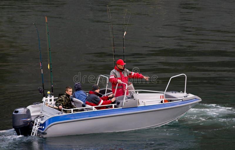 Fischereireise lizenzfreie stockfotos