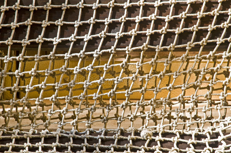 Fischernetz lizenzfreie stockfotos