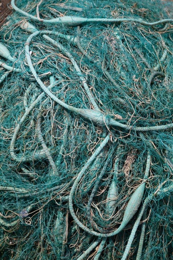 Fischernetz, Nahaufnahme lizenzfreies stockbild