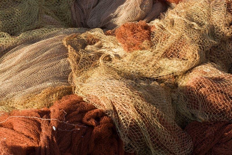 Fischernetze stockbilder