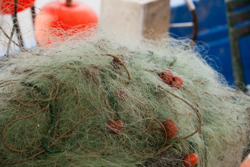 Fischernetze lizenzfreie stockbilder