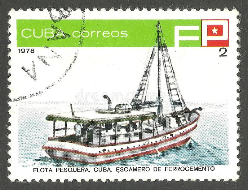 FischFang- und Verarbeitungsschiff stockfotografie