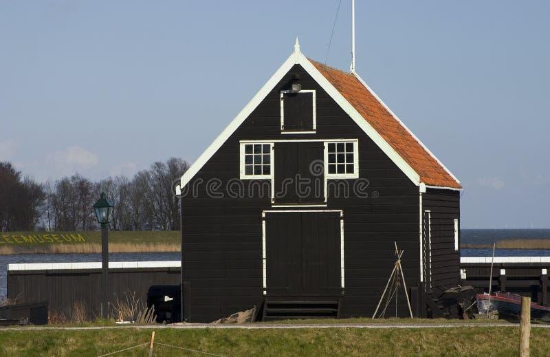 Fischhaus lizenzfreies stockbild