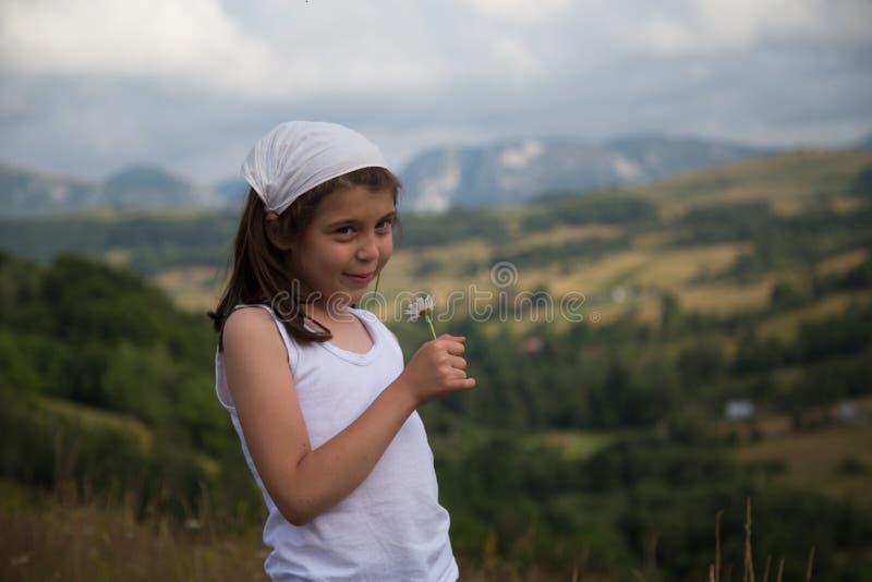 Fischio della ragazza fotografia stock libera da diritti