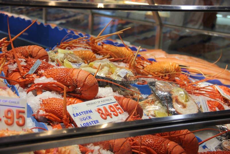 Fischmarkt in Hong Kong lizenzfreie stockfotos