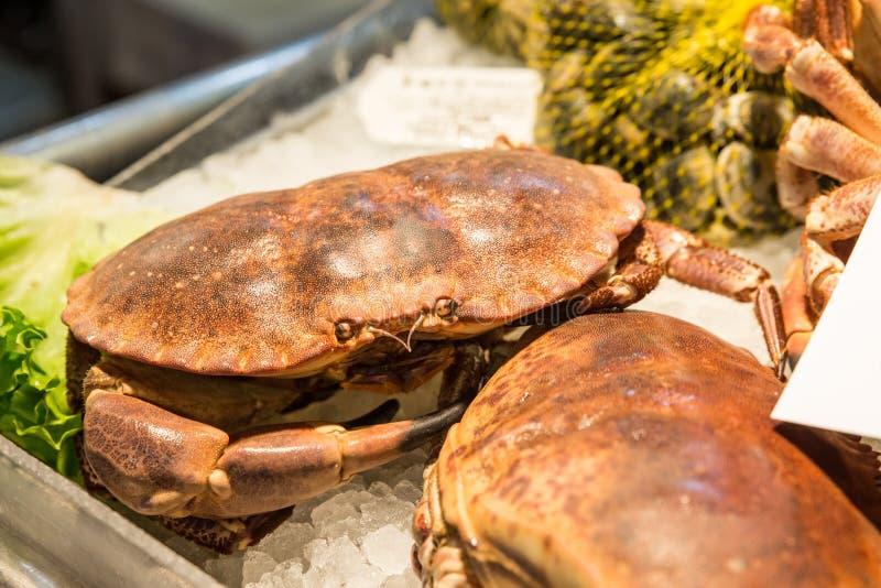 Fischmarkt in Venedig, Italien stockfotos