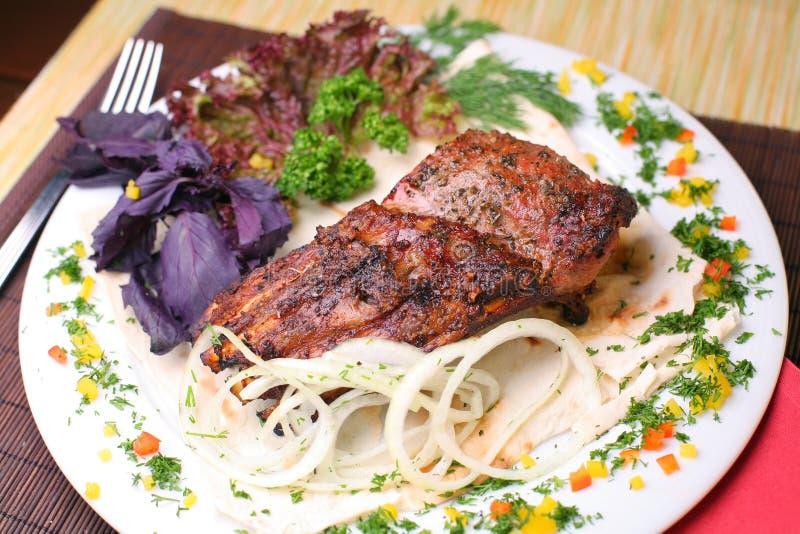 Fischrogenfleisch stockfotografie
