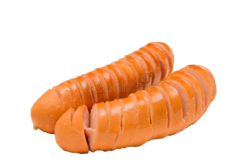 Fischrogenwurst stockfoto