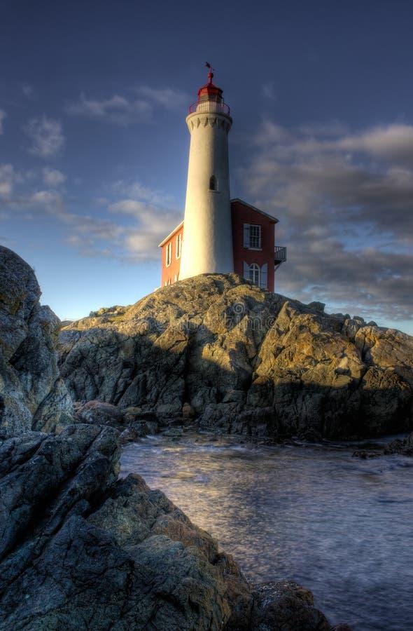 Fisgard Leuchtturm lizenzfreie stockfotografie