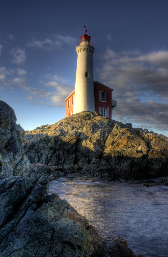 Download Fisgard Lighthouse stock image. Image of columbia, afternoon - 10669737