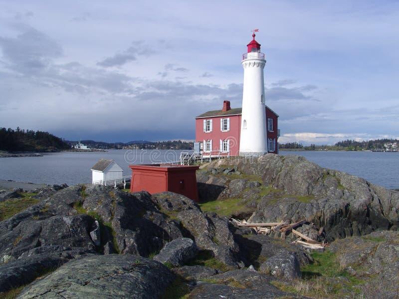 Download Fisgard lighthouse stock image. Image of rocky, rocks - 4360721