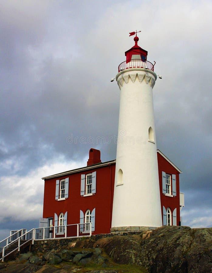 Fisgard wyspy światła stacja obraz stock