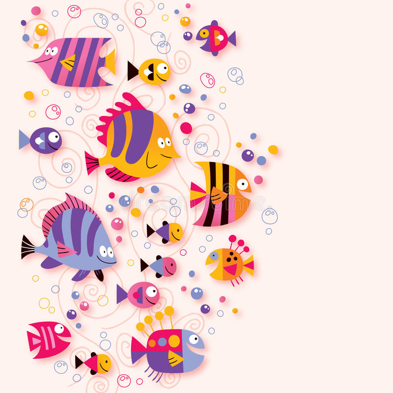 Download Fish stock vector. Image of design, background, beach - 27909372