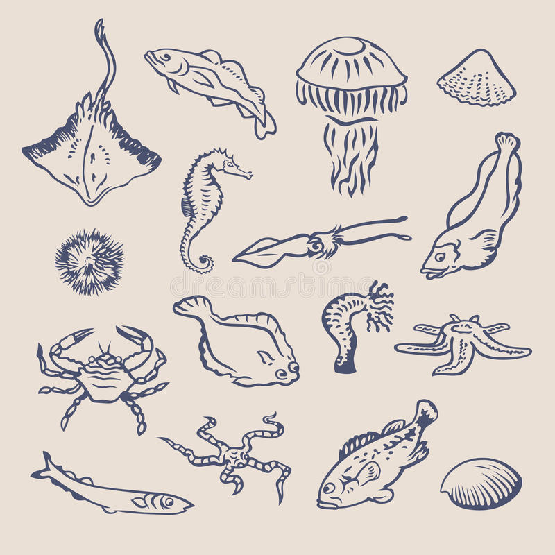 Fish1 royalty ilustracja