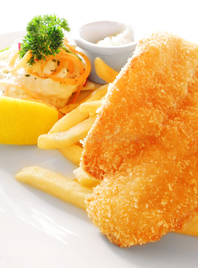 Free Fish And Chips Royalty Free Stock Photos - 7026998