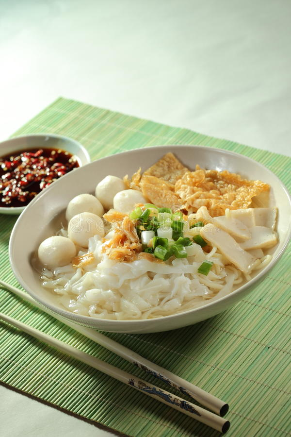 Download Fish Ball Noodle stock image. Image of cook, ball, gourmet - 17450369