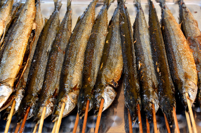 Download Fish barbecue stock photo. Image of eating, food, aroma - 33031922