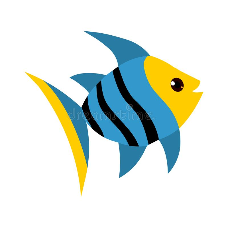 Fish cartoon stock illustration