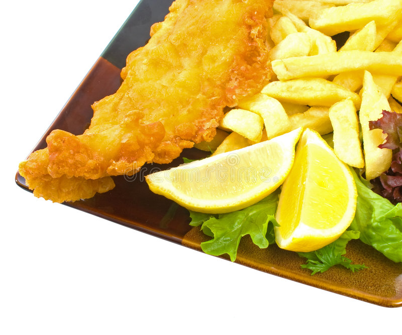 fish and chips stock image image of calories fast dinner 8957287. Black Bedroom Furniture Sets. Home Design Ideas