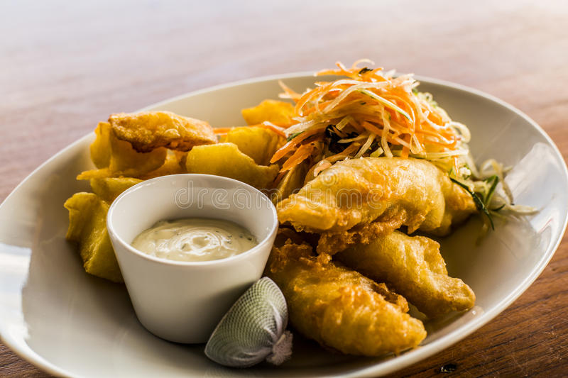 Download Fish and Chips stock image. Image of seafood, traditional - 79658223