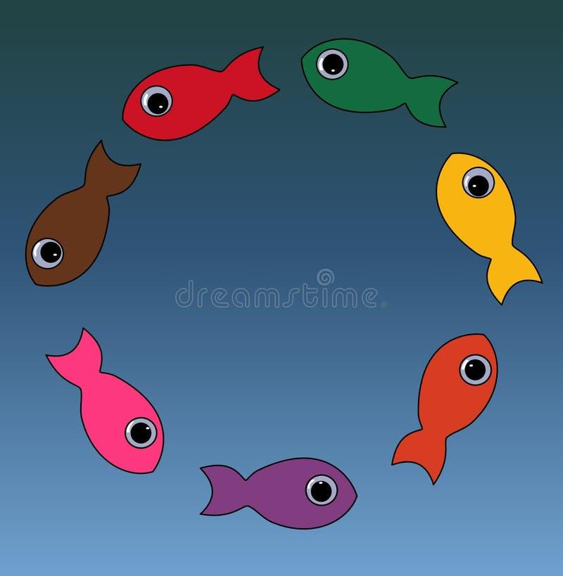 Fish Circle Royalty Free Stock Photography