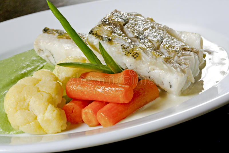 Fish dish royalty free stock photo