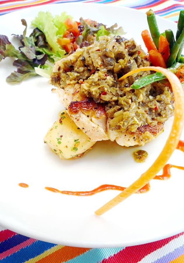 Free Fish Dish In Bali Cafe Royalty Free Stock Photo - 8321305