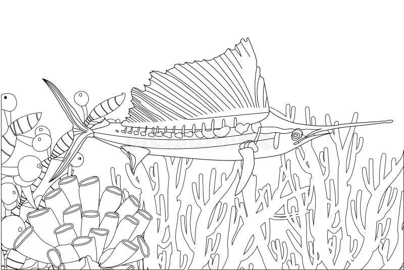 Sea Creatures Coloring Stock Illustrations – 282 Sea Creatures Coloring  Stock Illustrations, Vectors & Clipart - Dreamstime