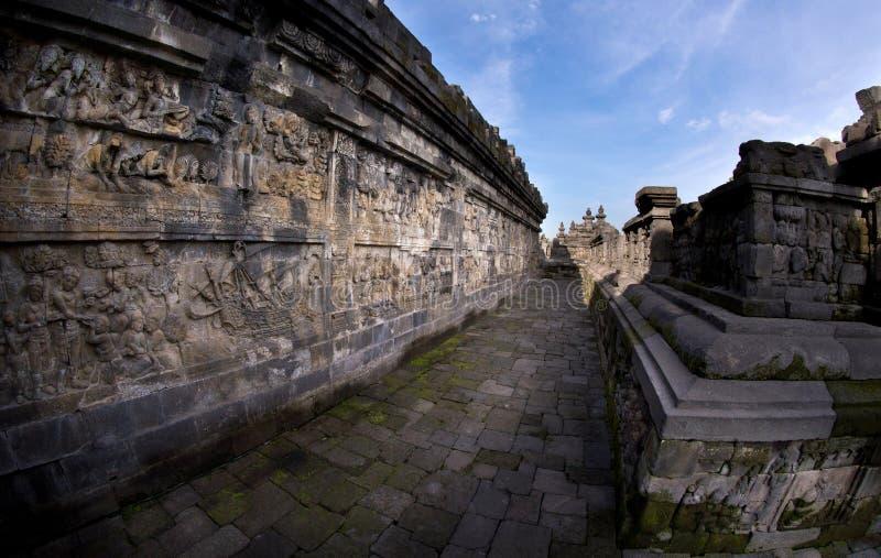 Download Fish-eye View Of Long Ancient Corridor Royalty Free Stock Photo - Image: 23482675
