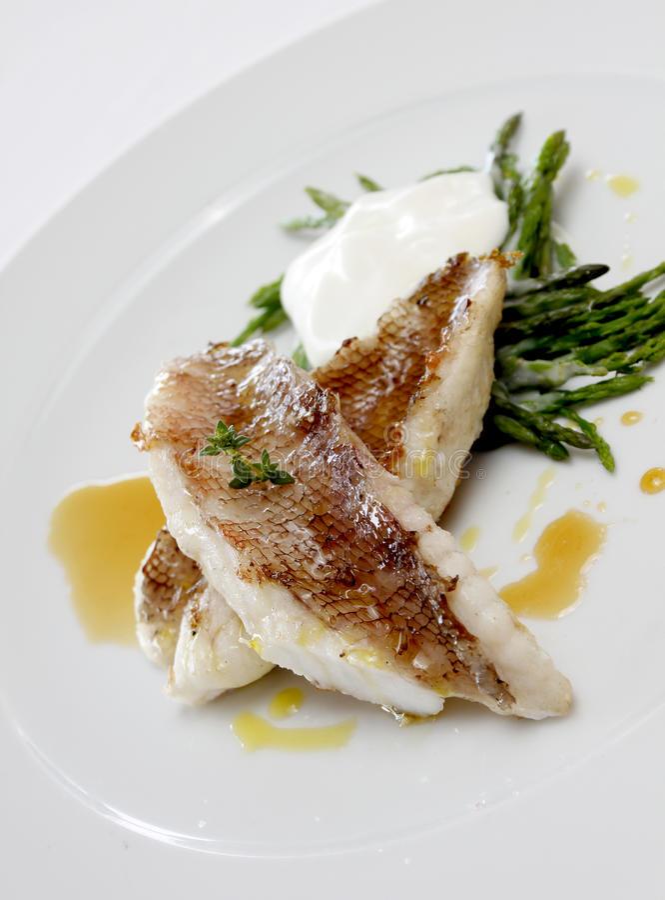 Fish file stock image
