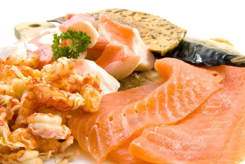 Fish filet royalty free stock images