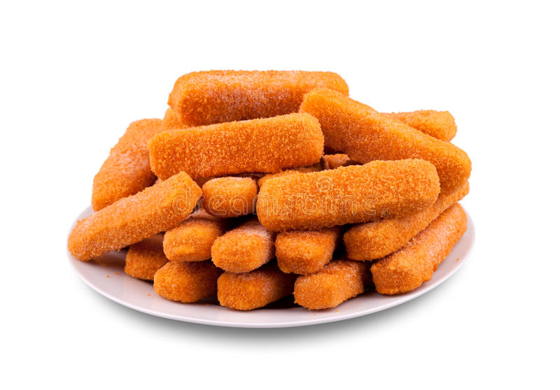 Download Fish Fingers On A Plate Stock Photography - Image: 27950492