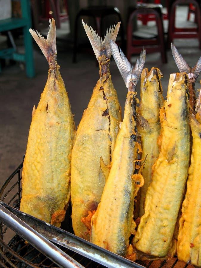 fish fried στοκ εικόνες με δικαίωμα ελεύθερης χρήσης