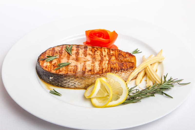 Download Fish fried fish stock photo. Image of fried, nature, vegetables - 39515572