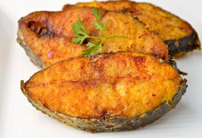 Fish fry royalty free stock image