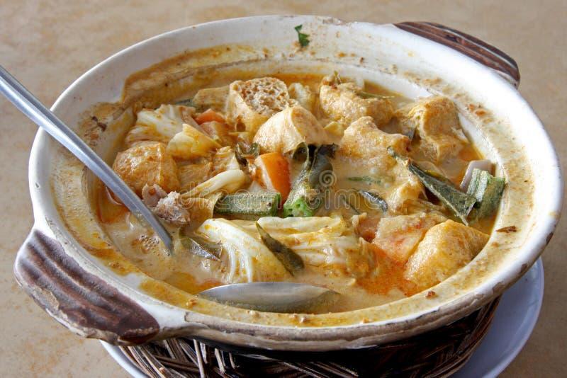Fish Head Curry Stock Photo