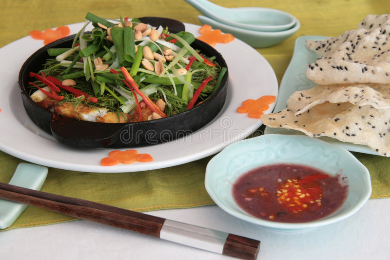 Download Fish hot plate stock image. Image of palate, healthy, asian - 1690743
